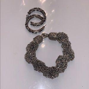 Brighton bracelet and earrings bundle